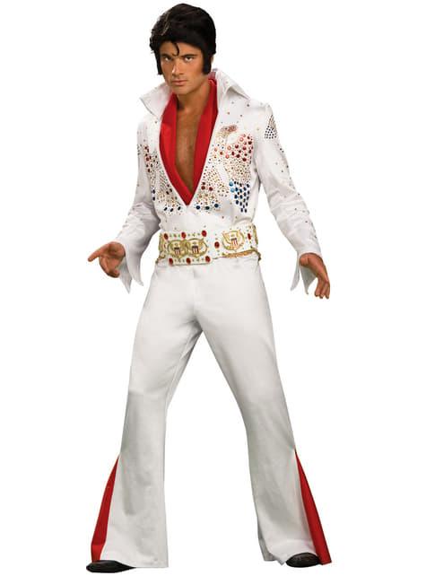 Fato do rei do rock Elvis Now para homem