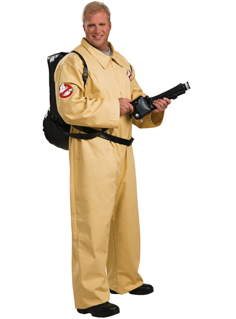 Mens size L Ghostbusters deluxe costume