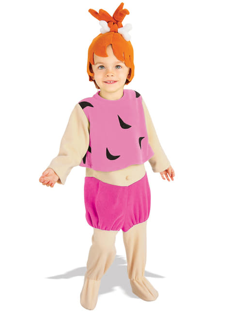 Girls Pebbles The Flintstones costume