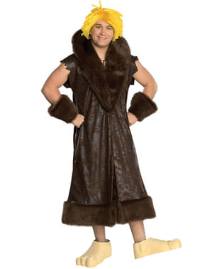 Barney Småsten kostume til teenagere - Familien Flinstone