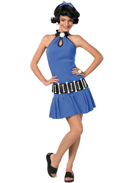 Teen girls Betty Rubble The Flintstones costume