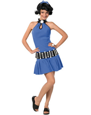Teen girls Betty Rubble The Flintstones costume