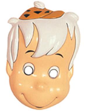 Maska Bamm-Bamm dla chłopców Flintstonowie
