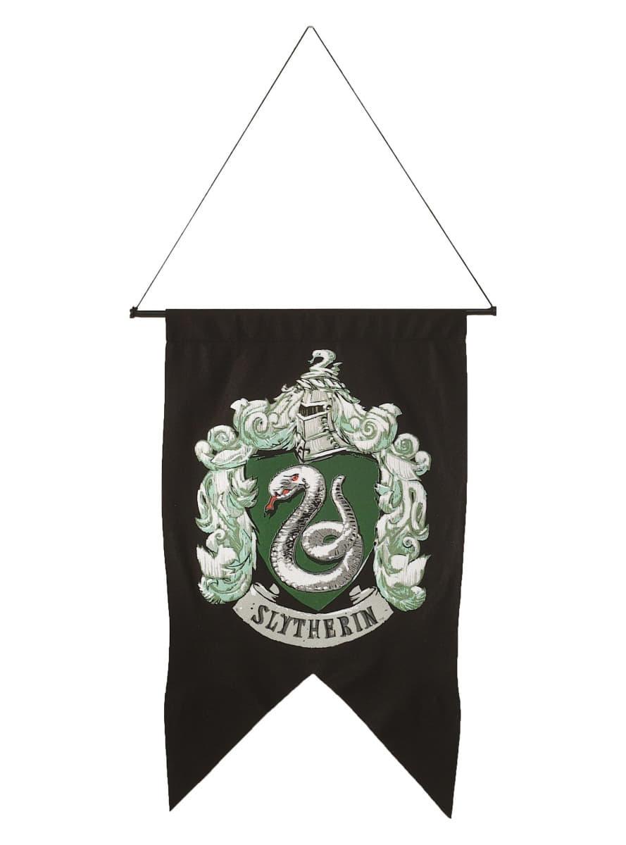 drapeau serpentard harry potter pour d guisement funidelia. Black Bedroom Furniture Sets. Home Design Ideas