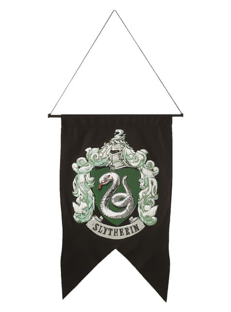 Bandera de Slytherin Harry Potter