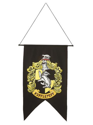 drapeau poufsouffle harry potter pour f tes et anniversaires funidelia. Black Bedroom Furniture Sets. Home Design Ideas