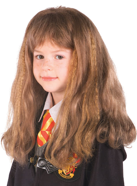 Peluca de Hermione Harry Potter
