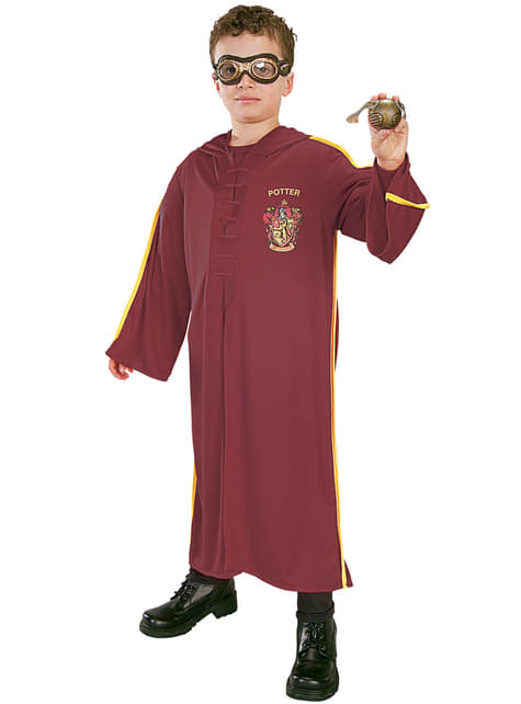 Disfraz de Quidditch Harry Potter