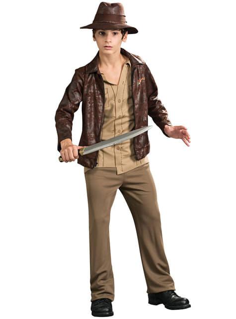 Disfraz de Indiana Jones para adolescente