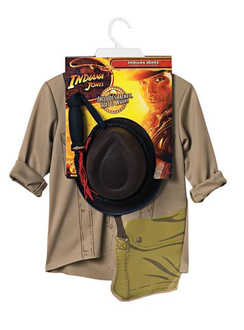 Kit disfraz de Indiana Jones para hombre