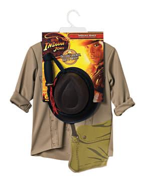 Kit costume Indiana Jones uomo