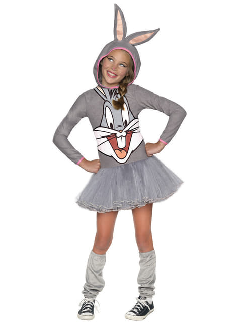 Déguisement Bugs Bunny Looney Tunes fille