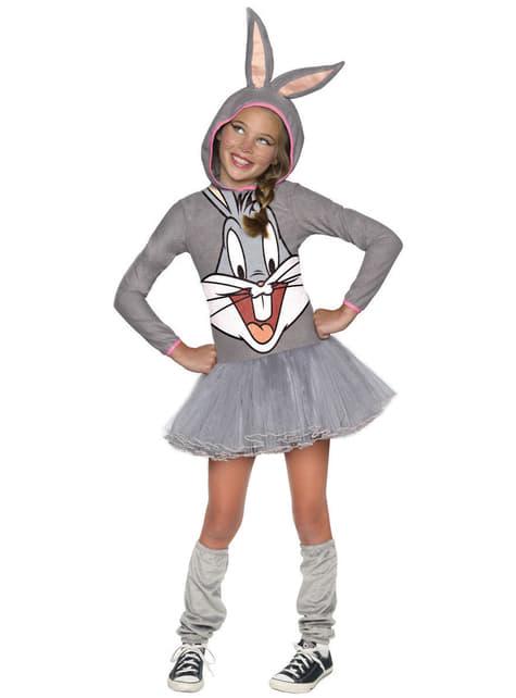 Disfraz de Bugs Bunny Looney Tunes para niña