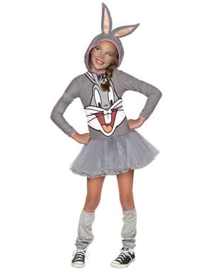 Bugs Bunny Kostüm für Mädchen Looney Tunes