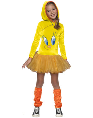 Girls Tweety Bird Looney Tunes costume