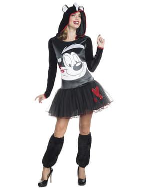 Disfraz de Pepe Le Pew Looney Tunes para mujer