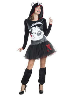 Womens Pepé Le Pew Looney Tunes costume