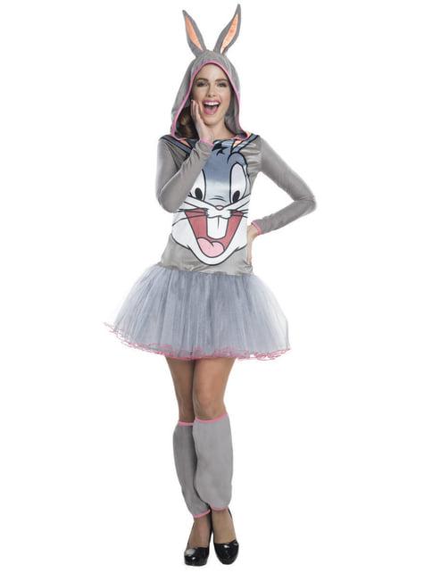 Strój Bugs Bunny Looney Tunes damski