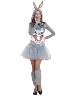 Disfraz de Bugs Bunny Looney Tunes para mujer