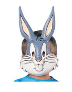 Máscara de Bugs Bunny Looney Tunes para niño