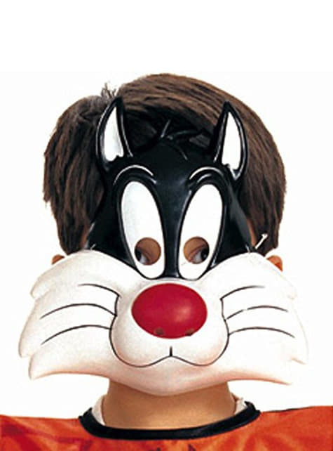 Kids Sylvester Tunes mask