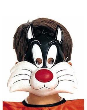 Maschera Gatto Silvestro Looney Tunes bambino