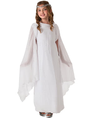 Disfraz de Galadriel deluxe The Hobbit para niña