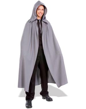 Zwarte cape Elvan Cloak The Lord of the Rings voor mannen