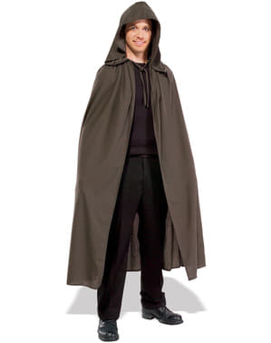 Bruine cape Elvan Cloak The Lord of the Rings voor mannen
