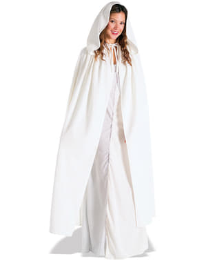 Witte cape Arwen Cloak The Lord of the Rings voor vrouw