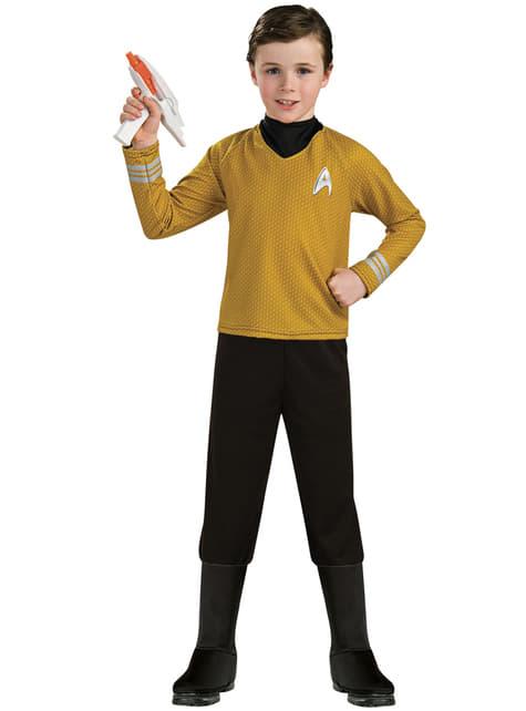 Παιδική καπετάνιος Kirk Star Trek πολυτελής φορεσιά