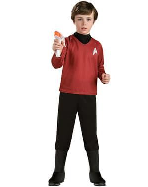 Strój Scotty Star Trek deluxe dla chlopca