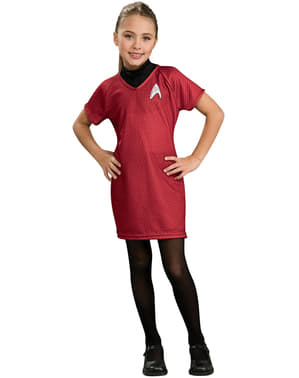 Girls Uhura Star Trek deluxe costume