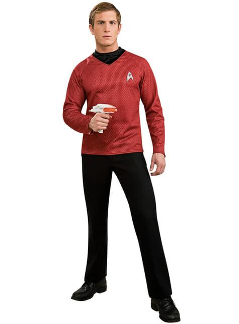 Mens Scotty Star Trek deluxe costume