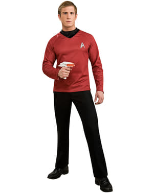 Mens Scotty Star Trek deluxe costume
