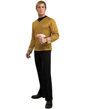 Fato de Capitão Kirk Star Trek deluxe para homem