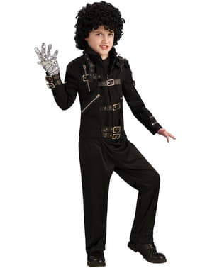 Jacka Bad Michael Jackson deluxe för barn