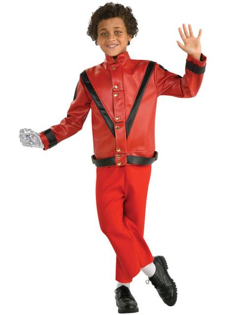 Casaco Thriller Michael Jackson deluxe para menino