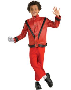 Chaqueta Thriller Michael Jackson deluxe para niño