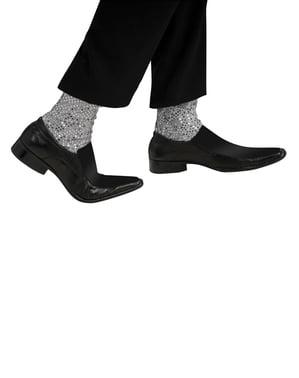 Meias-calças de Michael Jackson para adulto
