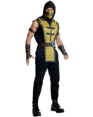 Mens Scorpion Mortal Kombat X costume