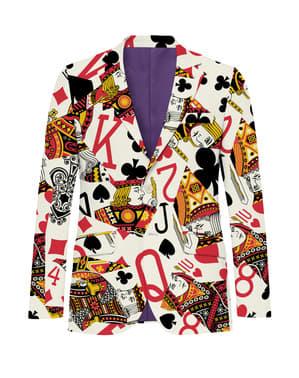 Jachetă barbați Rege de Cărți
