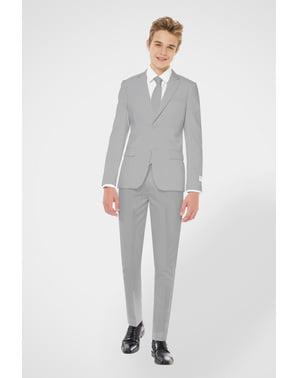 Grauer Anzug für Jugendliche - Opposuits
