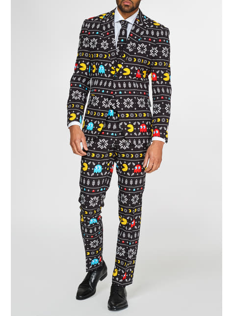 Traje de Pac-Man navideño Opposuits - hombre