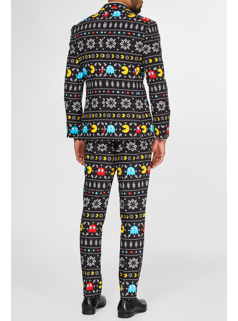 Christmas Pac-Man Opposuit - funny