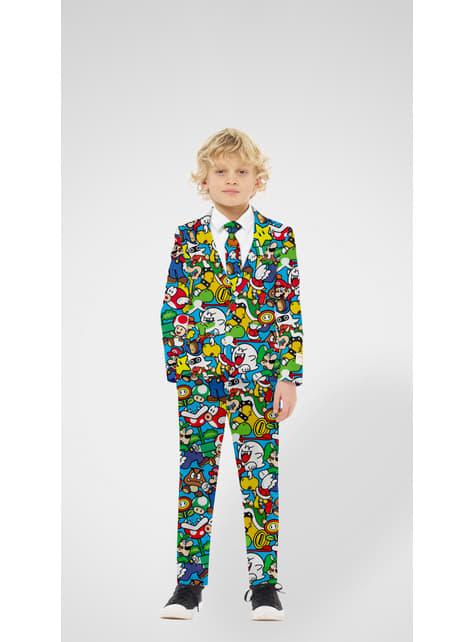 Super Mario Bros Opposuits Anzug für Teenager