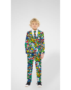 Opposuits Super Mario Bros Kostym för ungdom