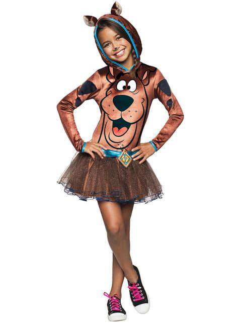Girls Scooby Doo costume