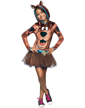 Girls Scooby Doo costume