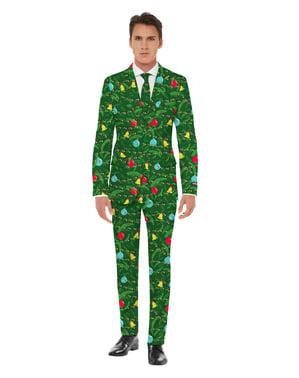Vihreä Joulu-opposuitspuku pojille